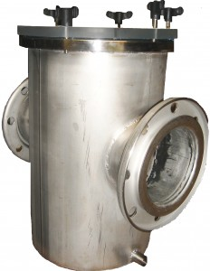 Corps de pr filtre en inox 316 l hydrotechydrotec for Prefiltre piscine